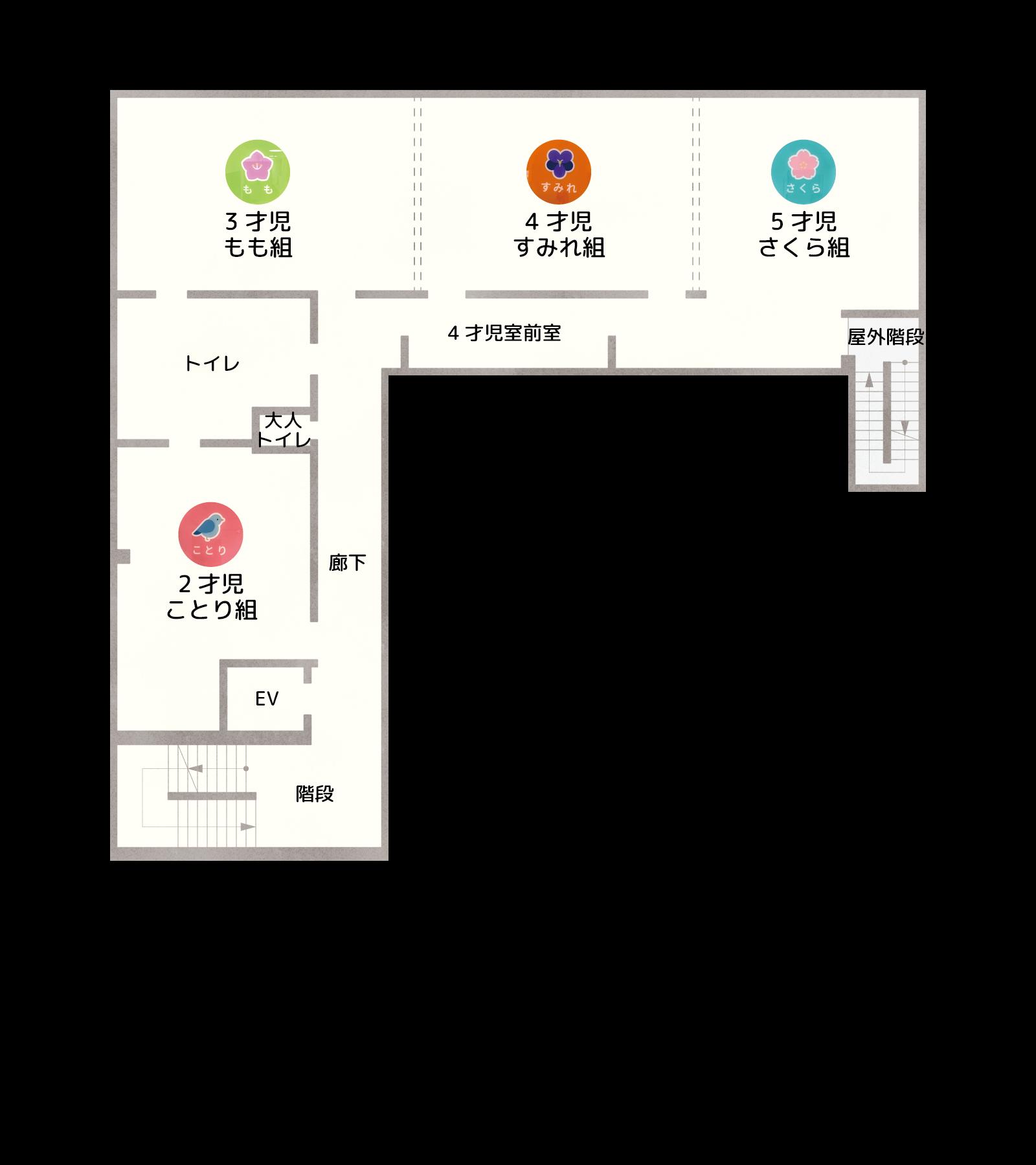 施設見取り図(2F)